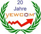 über 20 Jahre yewcom WebHosting Neuss Düsseldorf